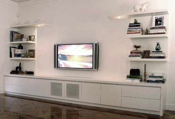 Unique Tv Wall Unit Setup Ideas (36)