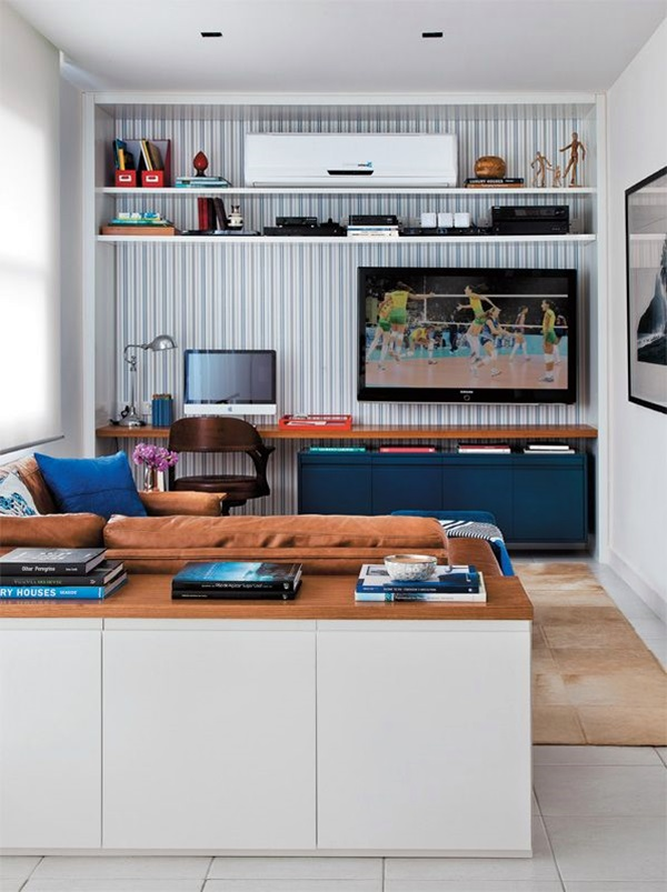 Unique Tv Wall Unit Setup Ideas (37)