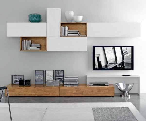 Unique Tv Wall Unit Setup Ideas (4)