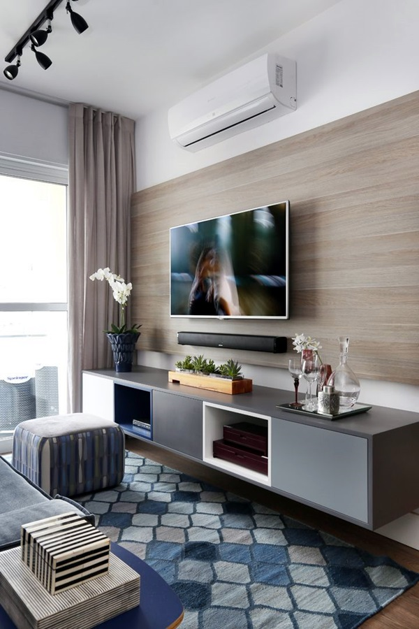 Unique Tv Wall Unit Setup Ideas (44)