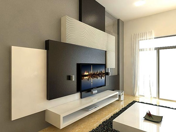 Unique Tv Wall Unit Setup Ideas (8)