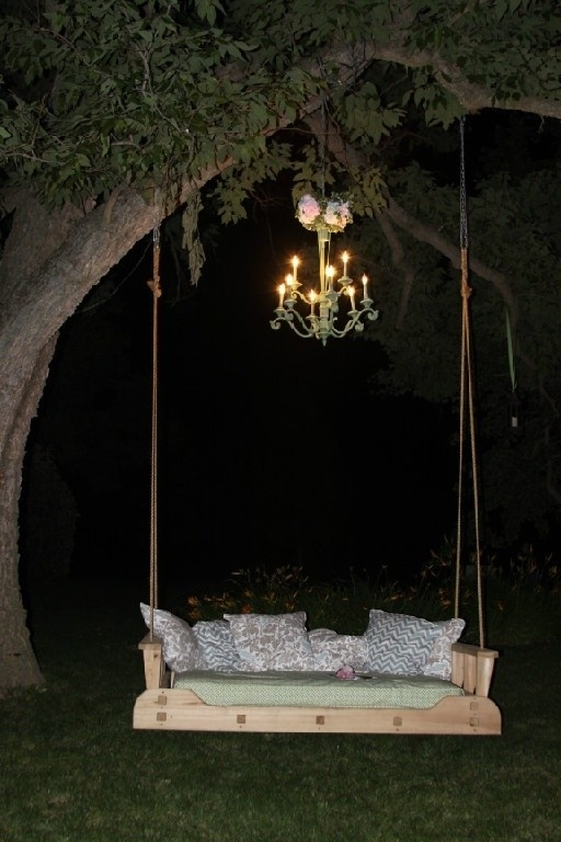 garden swing ideas 11