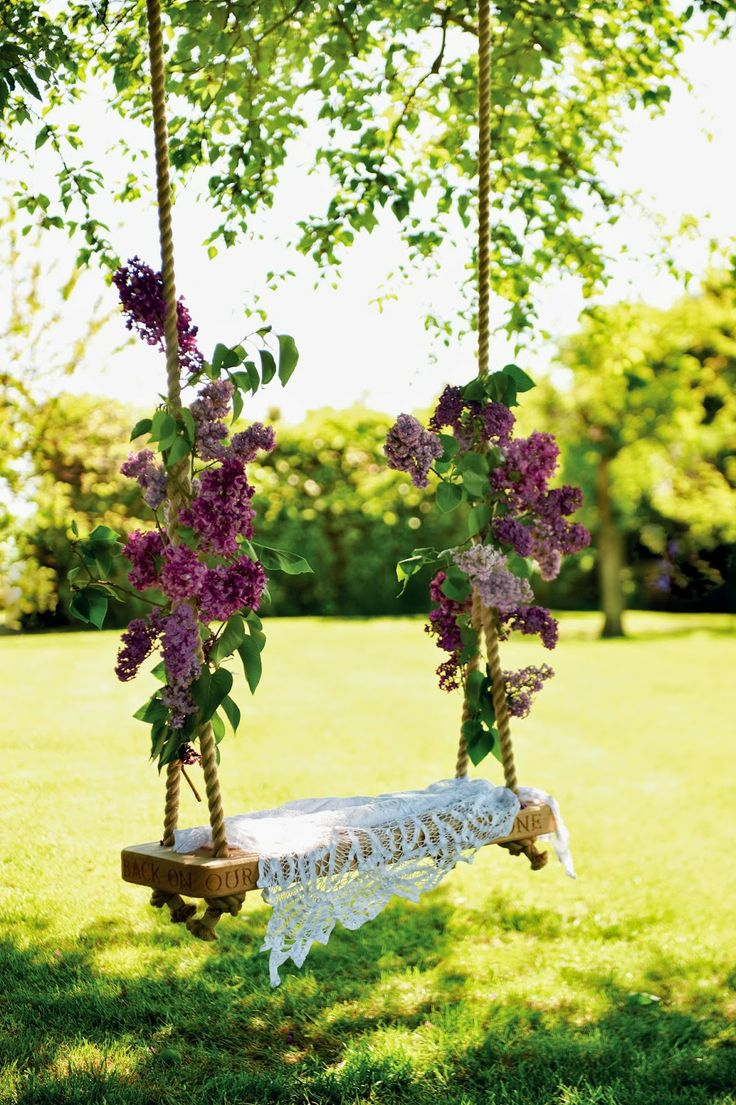 garden swing ideas 12