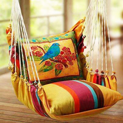 garden swing ideas 13