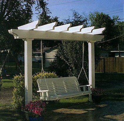 garden swing ideas 14
