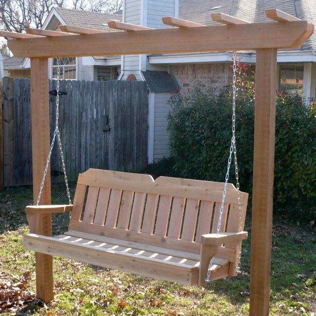 garden swing ideas 24