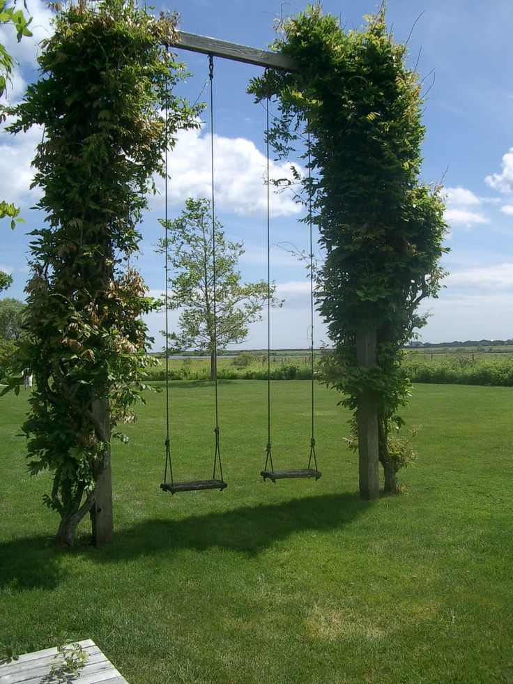 garden swing ideas 7