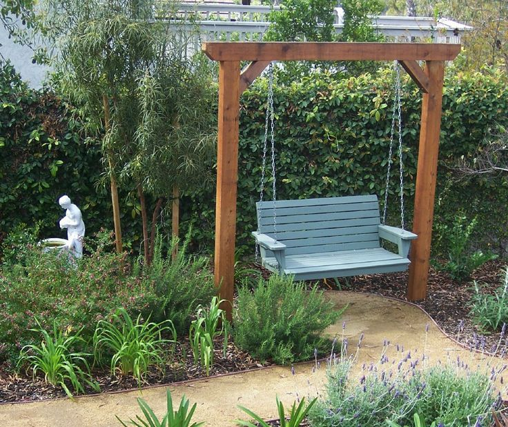 garden swing ideas 9