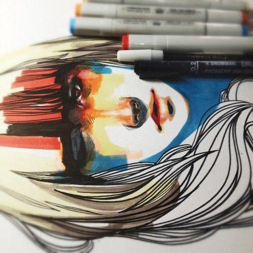 marker art 16