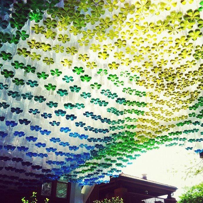 plastic bottle art 11