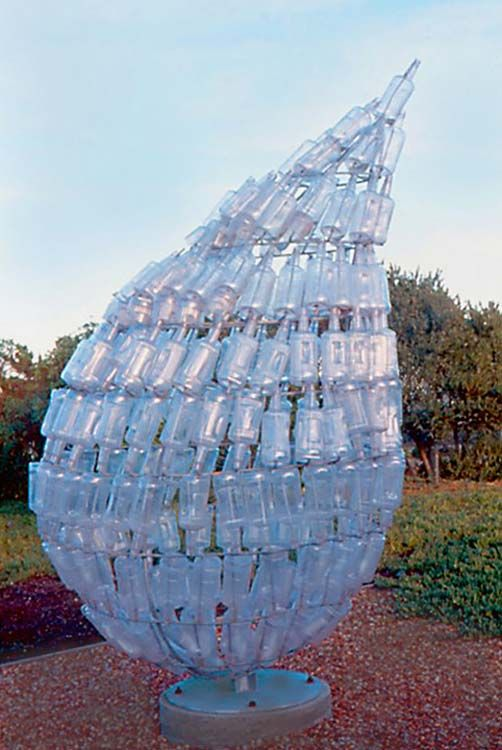 plastic bottle art 19