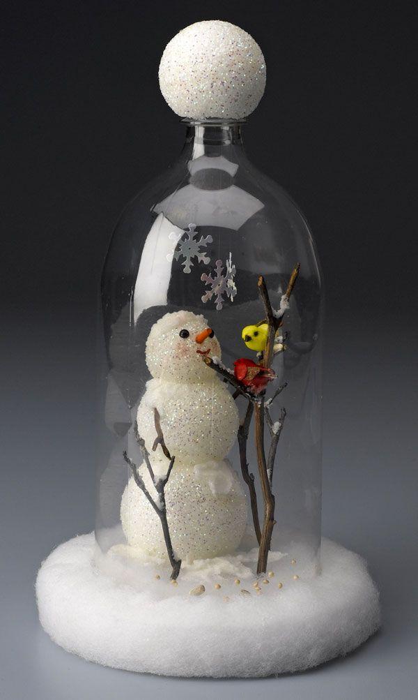 plastic bottle art 20