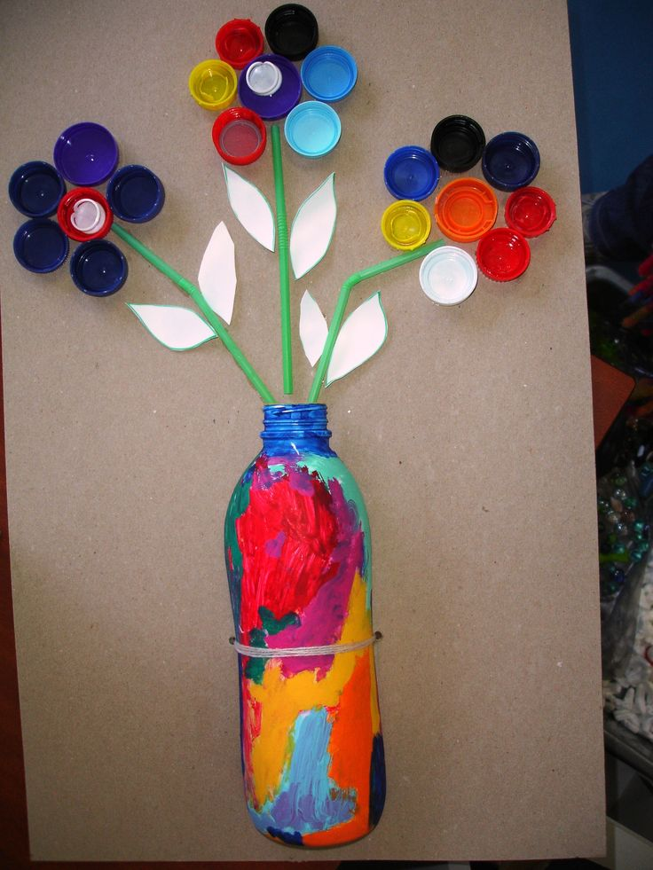 plastic bottle art 28