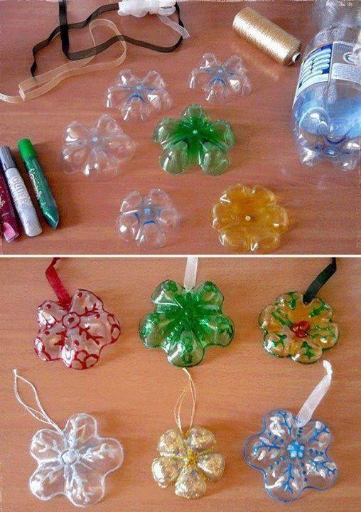 plastic bottle art 5