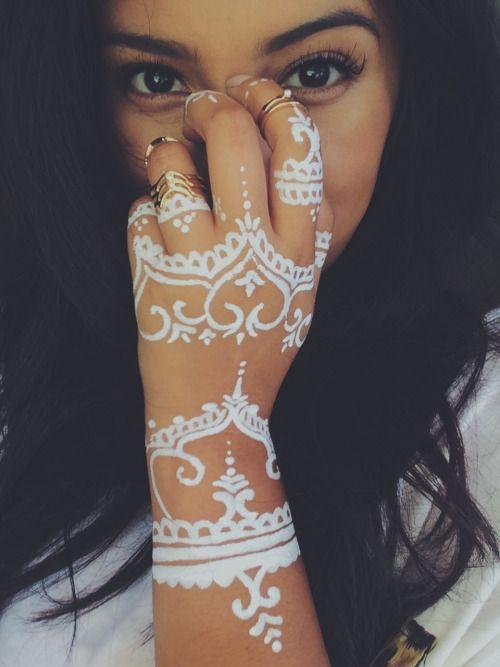 white henna designs 12