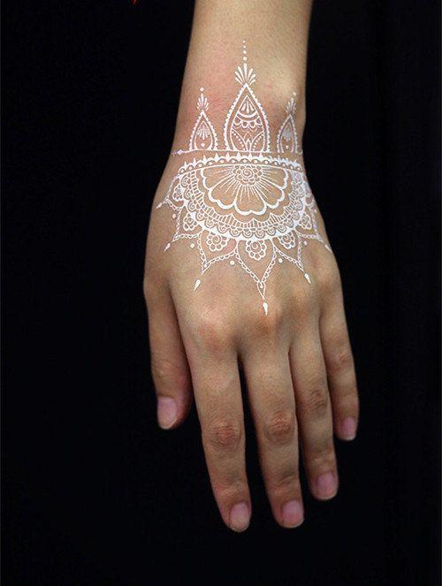 white henna designs 13