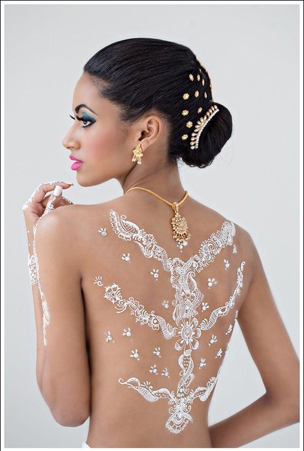 white henna designs 15