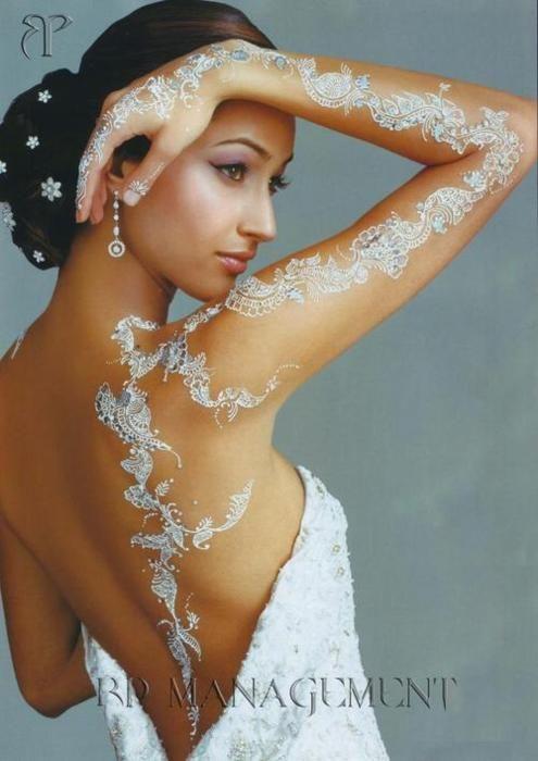 white henna designs 22