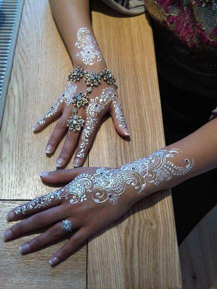 white henna designs 23