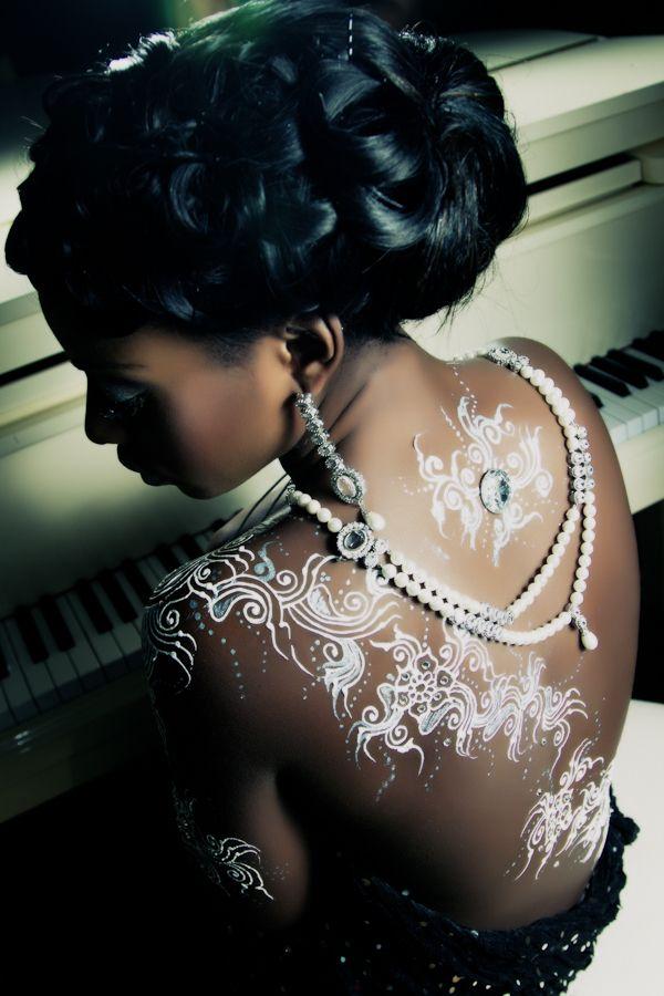 white henna designs 24
