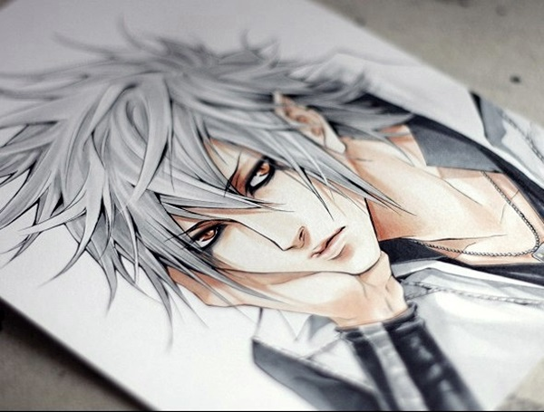 Amazing Anime Drawings And Manga Faces (1)