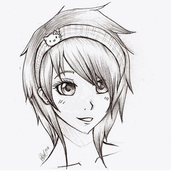 Amazing Anime Drawings And Manga Faces (19)