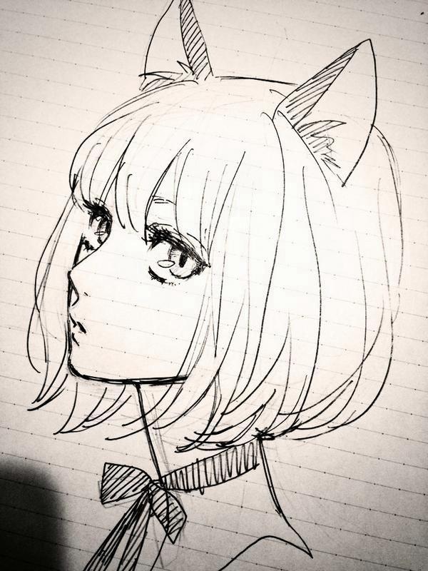 Amazing Anime Drawings And Manga Faces (30)