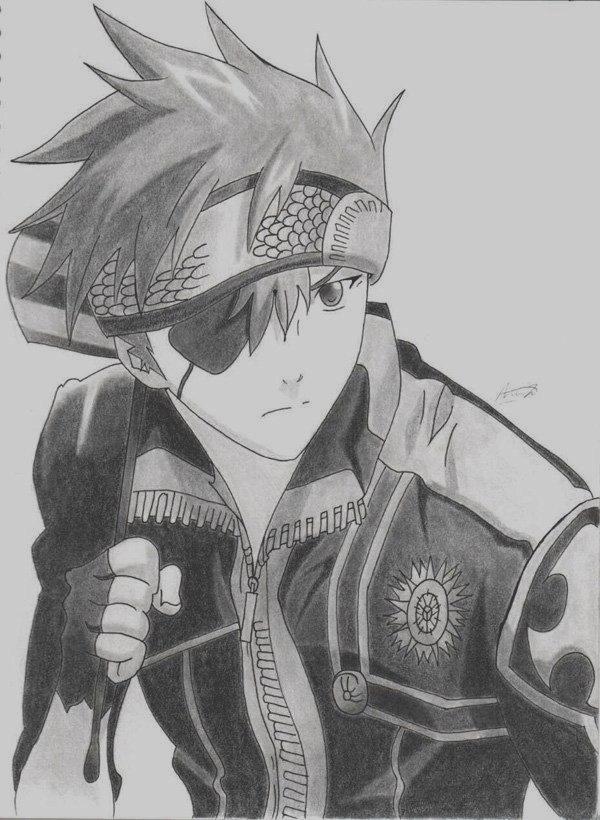 Amazing Anime Drawings And Manga Faces (34)