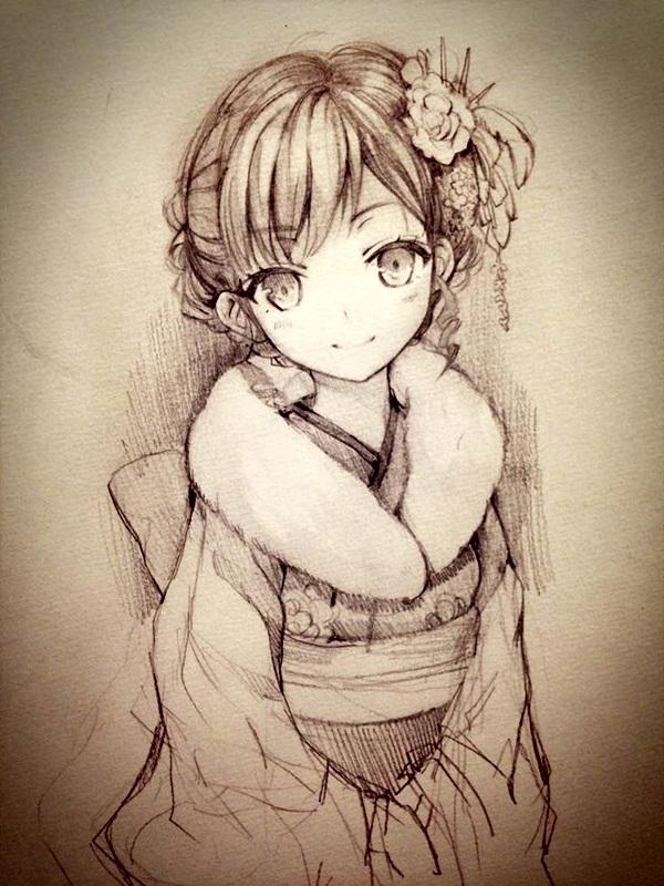 Amazing Anime Drawings And Manga Faces (35)