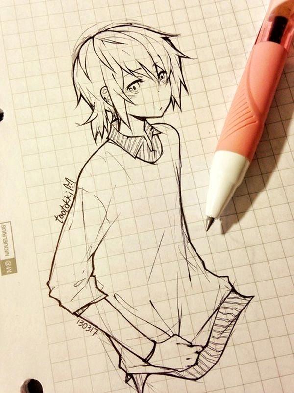 Amazing Anime Drawings And Manga Faces (37)