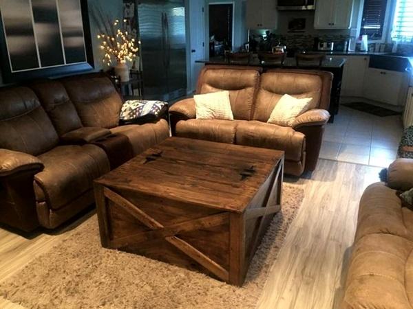 Amazing DIY pallet furniture Ideas (16)