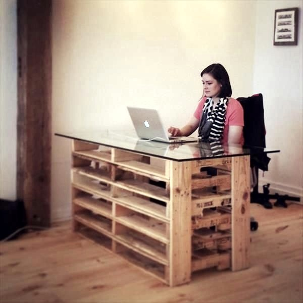Amazing DIY pallet furniture Ideas (20)