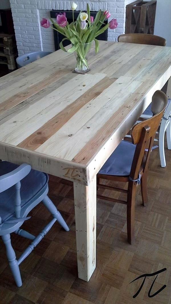Amazing DIY pallet furniture Ideas (26)