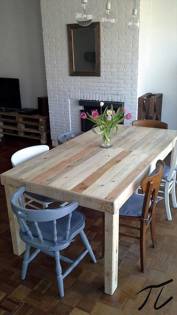 Amazing DIY pallet furniture Ideas (29)