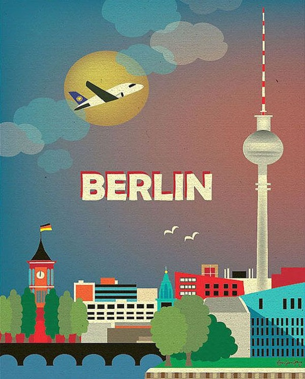 Beautiful City Poster ART Examples (10)