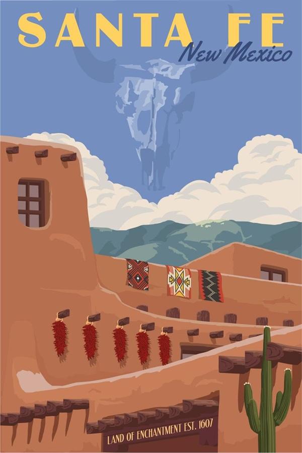 Beautiful City Poster ART Examples (11)