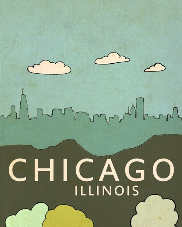 Beautiful City Poster ART Examples (12)