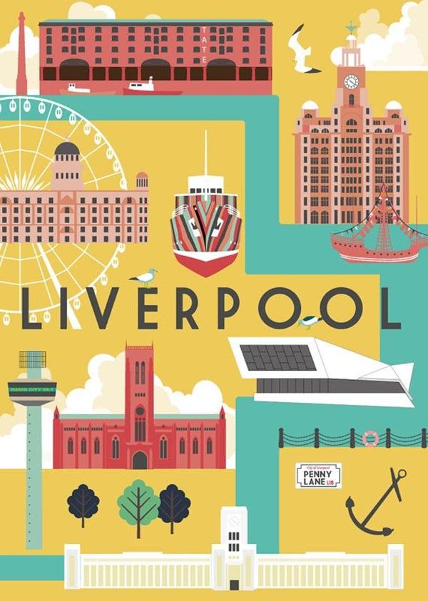 Beautiful City Poster ART Examples (13)