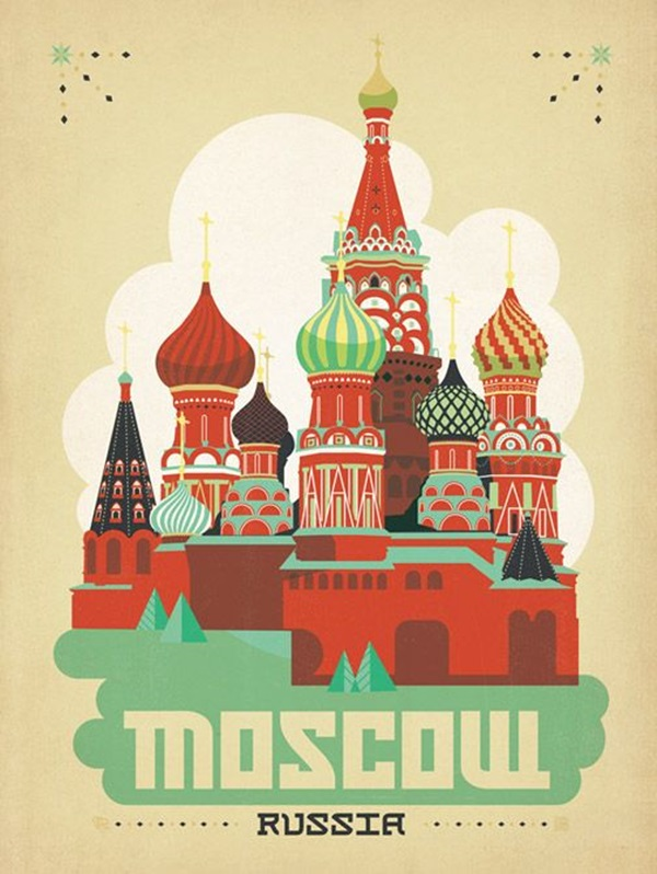 Beautiful City Poster ART Examples (14)