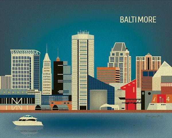 Beautiful City Poster ART Examples (17)