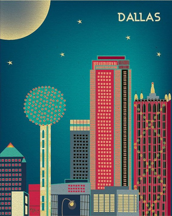 Beautiful City Poster ART Examples (2)