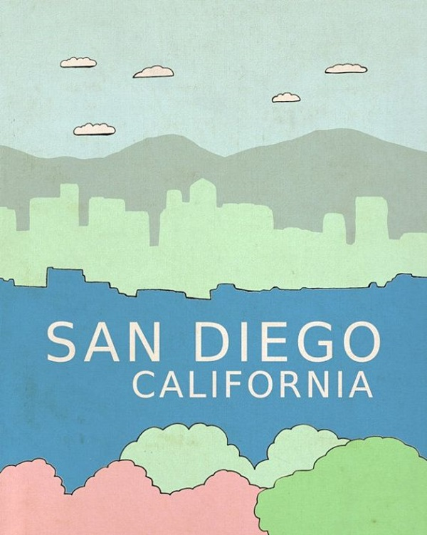 Beautiful City Poster ART Examples (22)