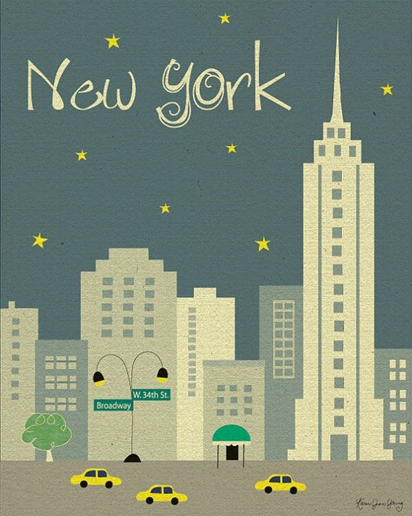 Beautiful City Poster ART Examples (23)