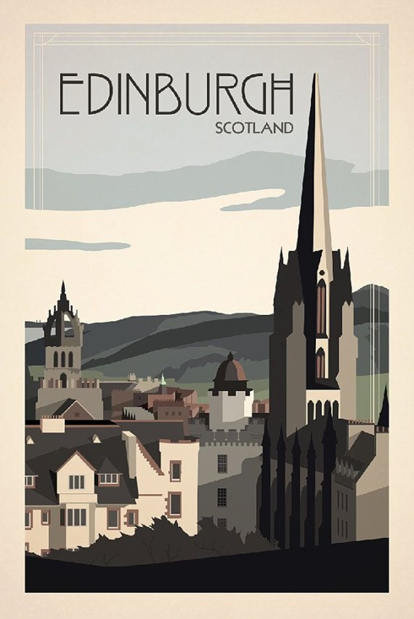 Beautiful City Poster ART Examples (25)