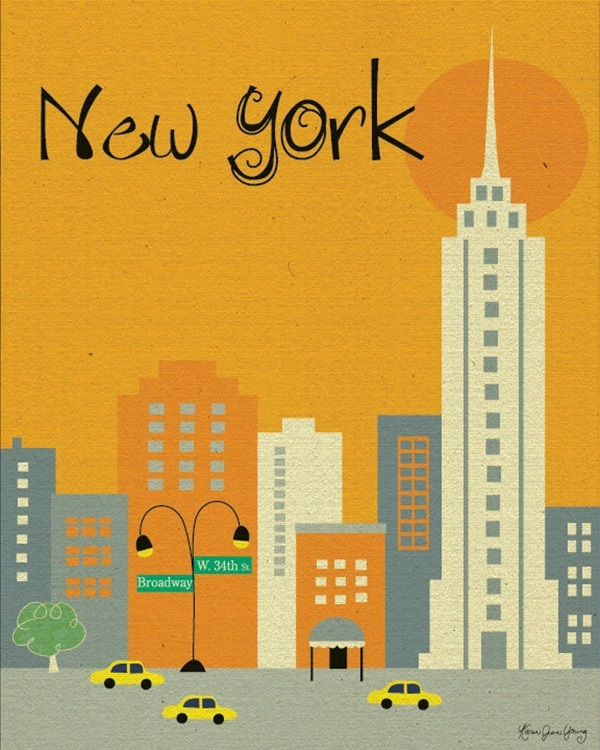 Beautiful City Poster ART Examples (3)