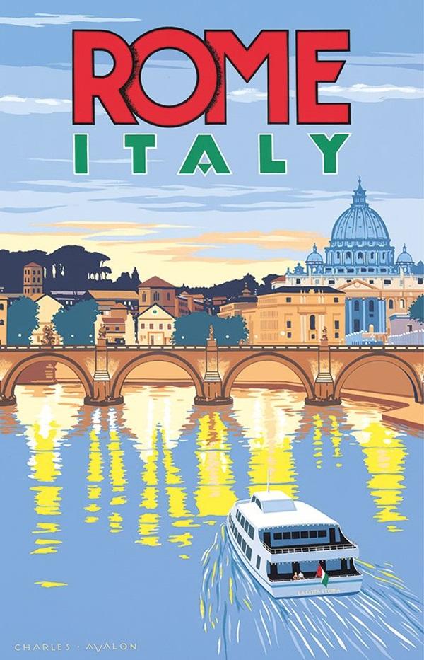 Beautiful City Poster ART Examples (30)