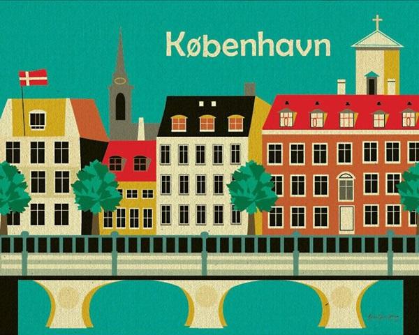 Beautiful City Poster ART Examples (33)