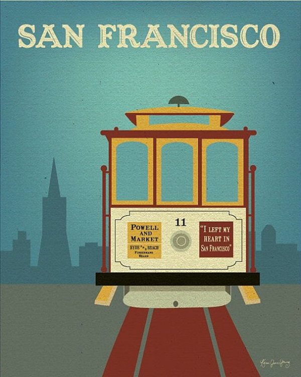 Beautiful City Poster ART Examples (39)