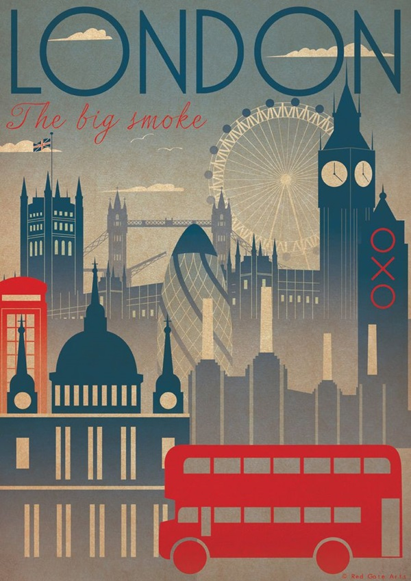 Beautiful City Poster ART Examples (6)
