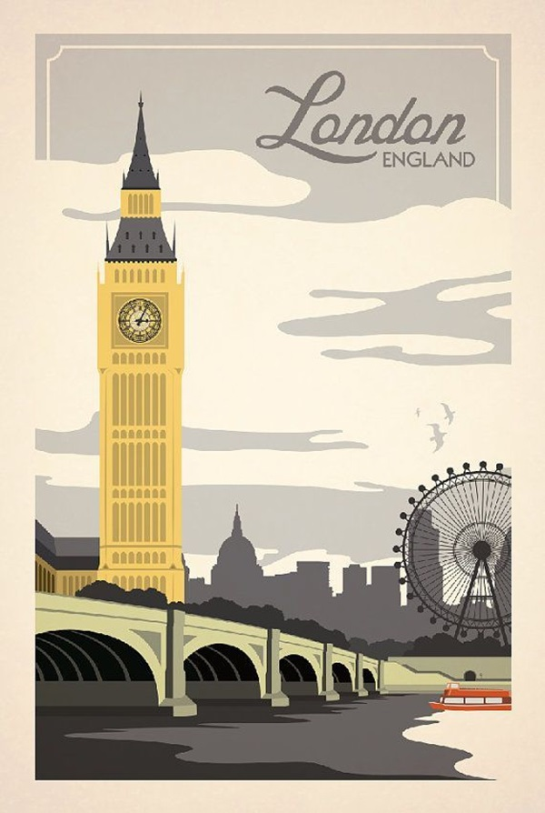 Beautiful City Poster ART Examples (8)